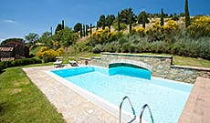 Cottage, villa and country house for tourist rental at the agriturismo Mulino a Vento in Cortona