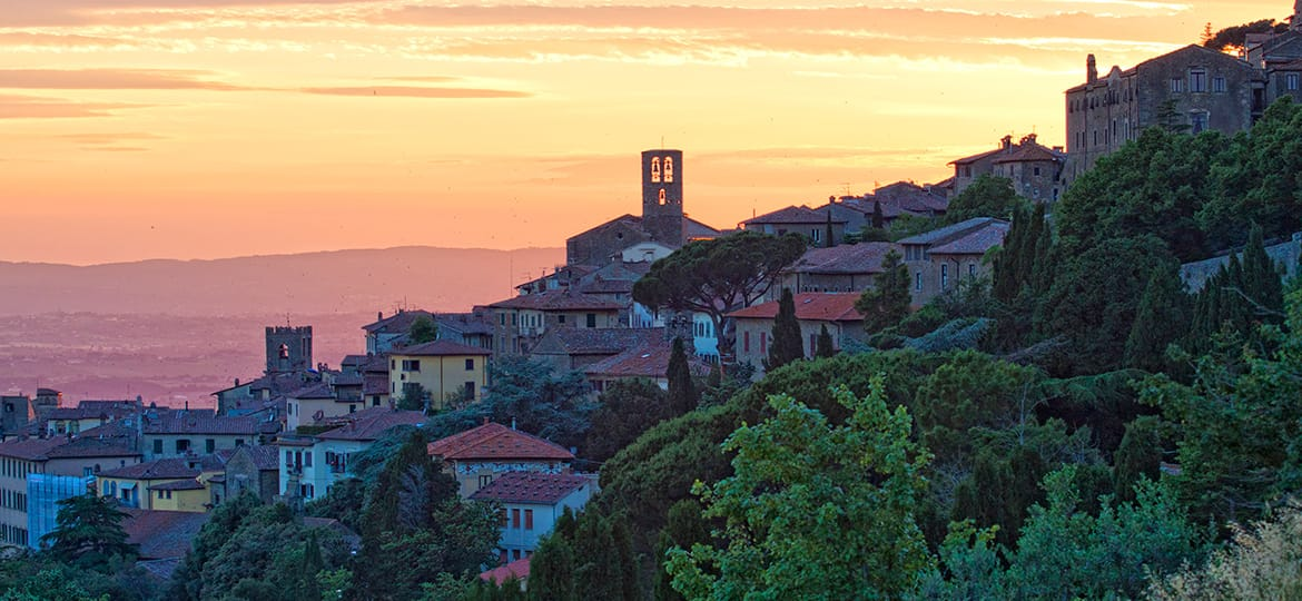 Cortona, Ancient city of medieval art and of Etruscan origins